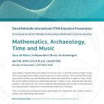 Math Archaeology Time and Music