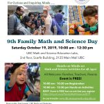 Family Math and Science Day 2019