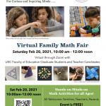 Virtual Family Math Fair 2021